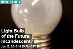 Light Bulb of the Future: Incandescent?