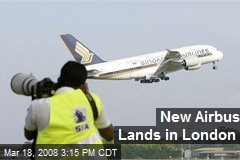 New Airbus Lands in London