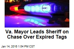 Va. Mayor Leads Sheriff on Chase Over Expired Tags