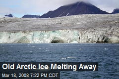 Old Arctic Ice Melting Away