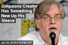 Simpsons Creator Matt Groening Far From Done