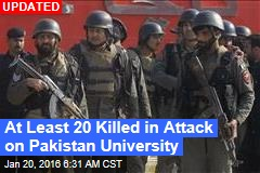 Troops Battle Militants at Pakistan University