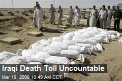 Iraqi Death Toll Uncountable