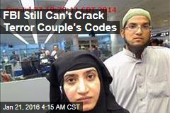 FBI Still Can't Crack Terror Couple's Codes