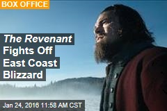 The Revenant Fights Off East Coast Blizzard