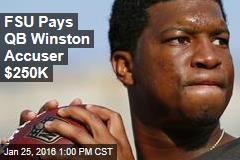 FSU Pays QB Winston Accuser $250K