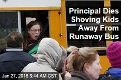 Principal Dies Shoving Kids Away From Runaway Bus