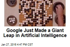 Google Just Made a Giant Leap in Artificial Intelligence