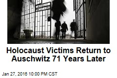 Holocaust Victims Return to Auschwitz 71 Years Later