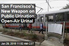 San Francisco's New Weapon on Public Urination: Open-Air Urinal