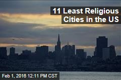 11 Least Religious Cities in the US