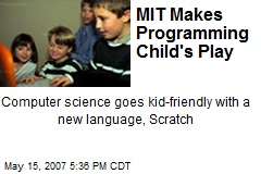 MIT Makes Programming Child's Play