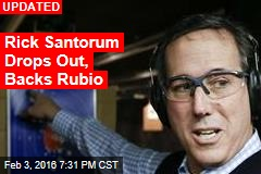 Rick Santorum Also Dropping Out: Sources