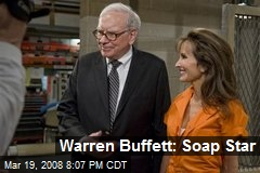 Warren Buffett: Soap Star