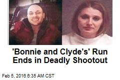 'Bonnie and Clyde's' Run Ends in Deadly Shootout
