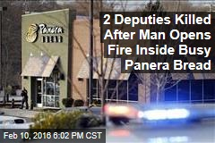 2 Deputies Killed After Man Opens Fire Inside Busy Panera Bread