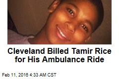 Boy Killed by Cop Billed for Ambulance Ride