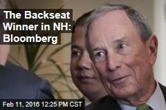 The Backseat Winner in NH: Bloomberg