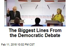 The Biggest Lines From the Democratic Debate