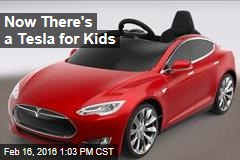 Now There's a Tesla for Kids