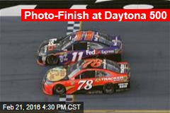 Photo-Finish at Daytona 500