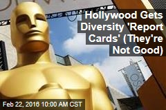 Hollywood Gets Diversity 'Report Cards' (They're Not Good)