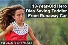 10-Year-Old Hero Dies Saving Toddler From Runaway Car