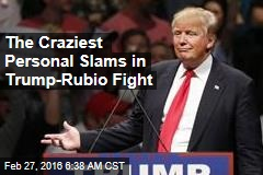 Pants-Wetting, Sweating: Trump-Rubio Fight Gets Low