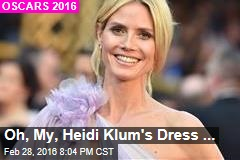 Oh, My, Heidi Klum's Dress...