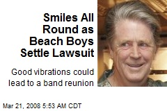 Smiles All Round as Beach Boys Settle Lawsuit