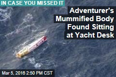 Mummified Body on 'Ghost Yacht' Leaves Police Baffled