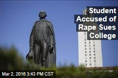 Student Accused of Rape Sues College
