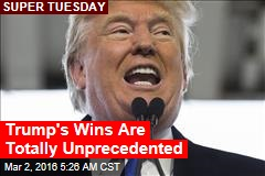Trump's Wins Are Totally Unprecedented