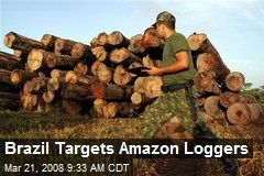 Brazil Targets Amazon Loggers