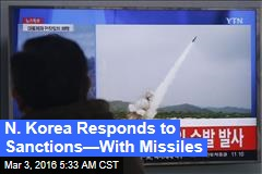 N. Korea Fires Missiles After Sanctions Passed