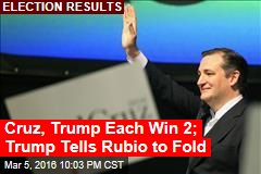 It's an Early Big Lead for Ted Cruz in Kansas Caucus