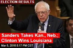 Sanders Takes Kansas
