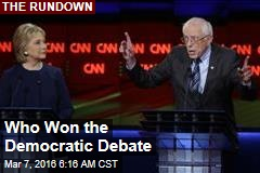 Who Won the Democratic Debate