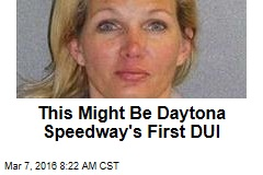 This Might Be Daytona Speedway's First DUI