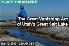 The Great Vanishing Act of Utah's Great Salt Lake