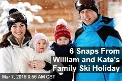 6 Snaps From William and Kate's Family Ski Holiday