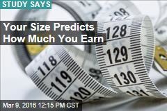 Your Size Predicts How Much You Earn