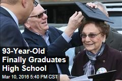 93-Year-Old Finally Graduates High School