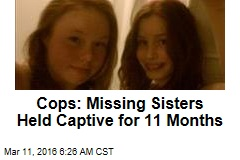 Cops: Missing Teens Held Captive for 11 Months