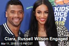 Ciara, Russell Wilson Engaged