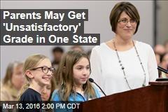 Lawmakers: We Want Teachers to Grade Parents