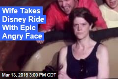 Wife Gives Husband Her 'Angry Face' in Epic Photo