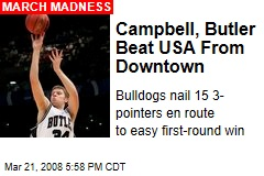 Campbell, Butler Beat USA From Downtown