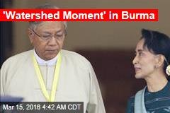 Burma Has a New President