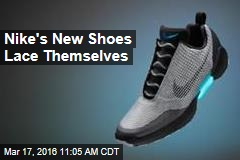 Nike's New Shoes Lace Themselves